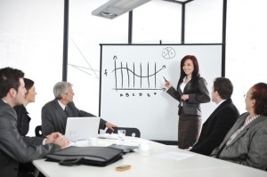 Develop presentation skills with training